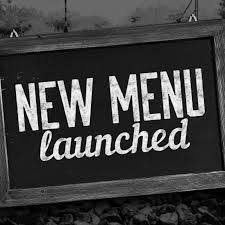 New Menu Launch- November 2020