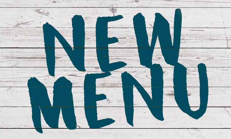 New Menu Launch June 2020