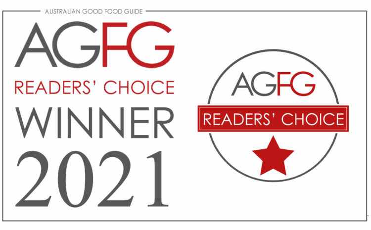 AGFG Readers Choice Award 2021